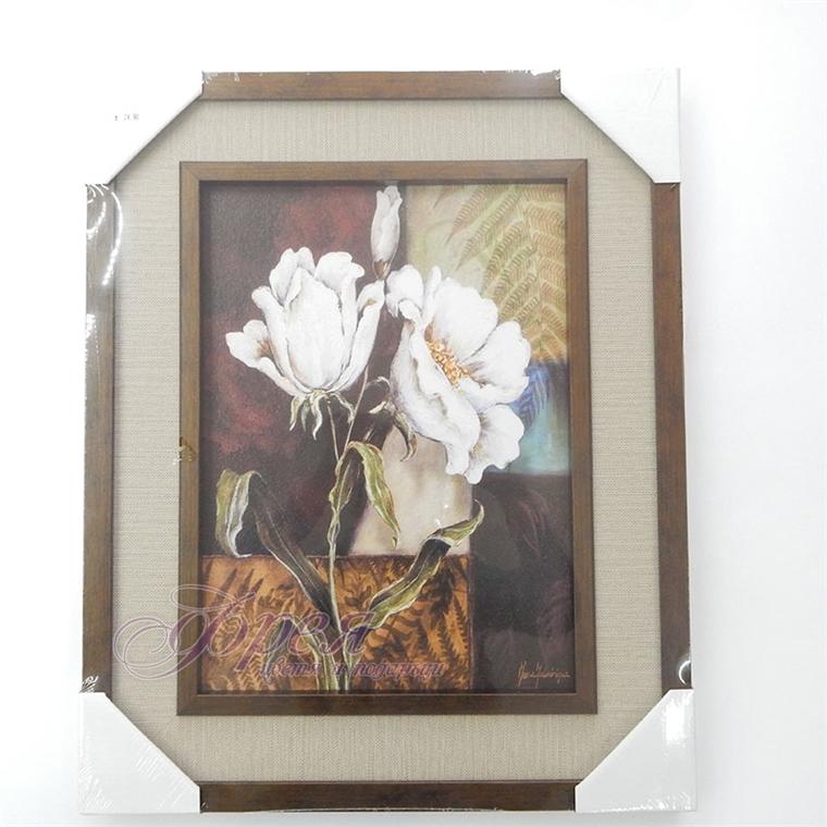 Картина с цветя