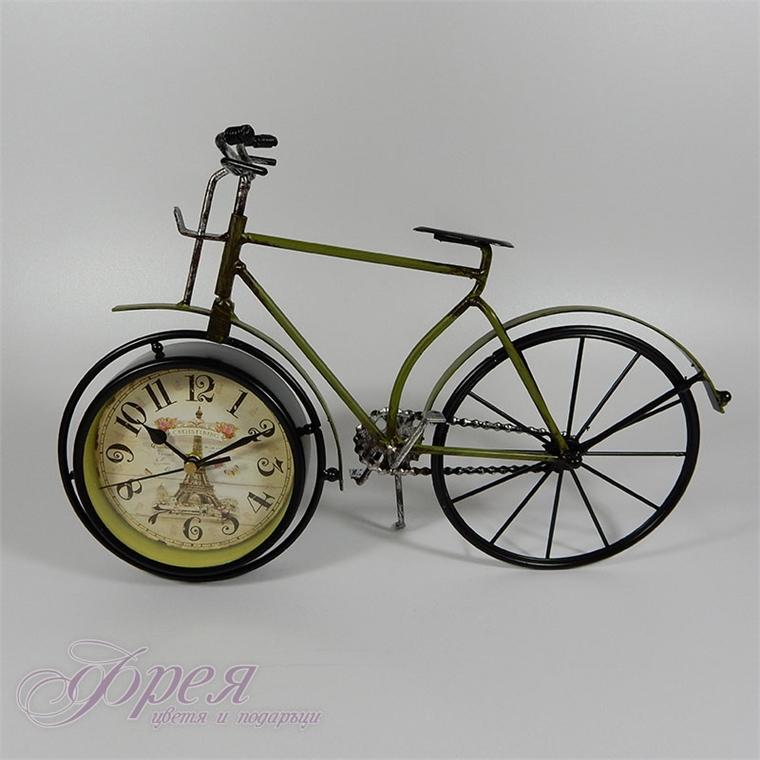 Винтидж часовник - велосипед