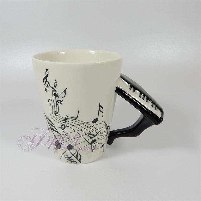 Порцеланова чаша с дръжка роял