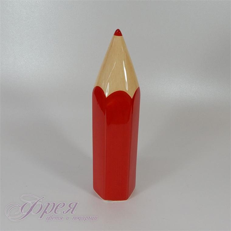 Касичка - червен молив