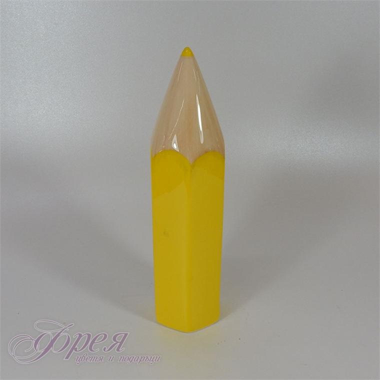 Касичка - жълт молив 24см