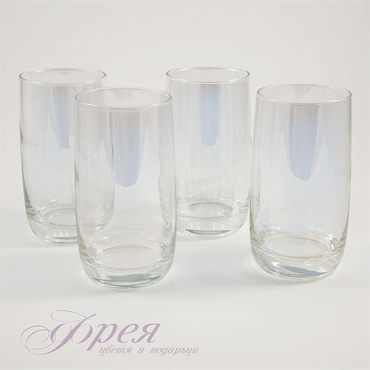 Чаши за вода 330 мл в злато