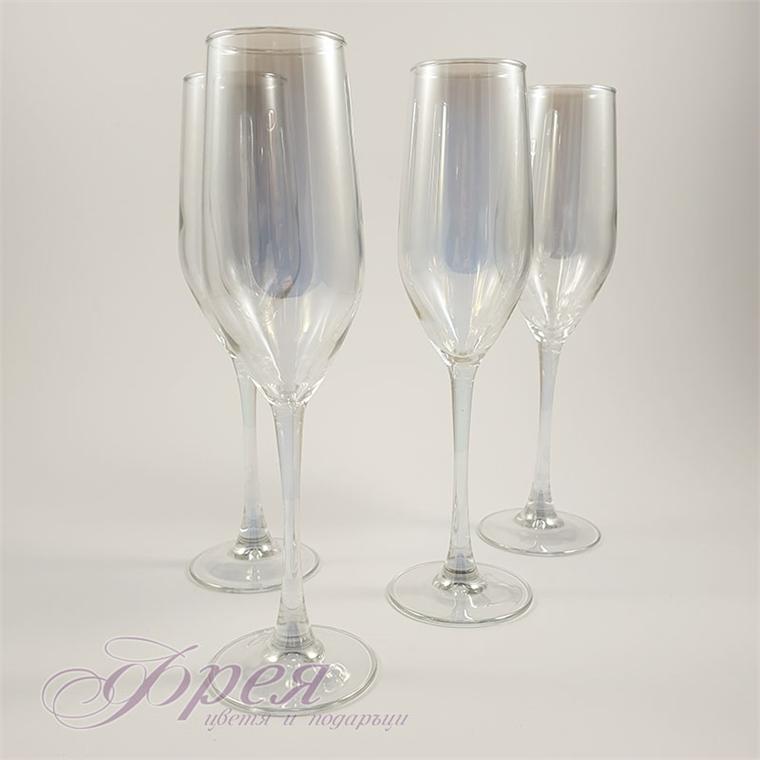 Чаши за шампанско Luminarc gold
