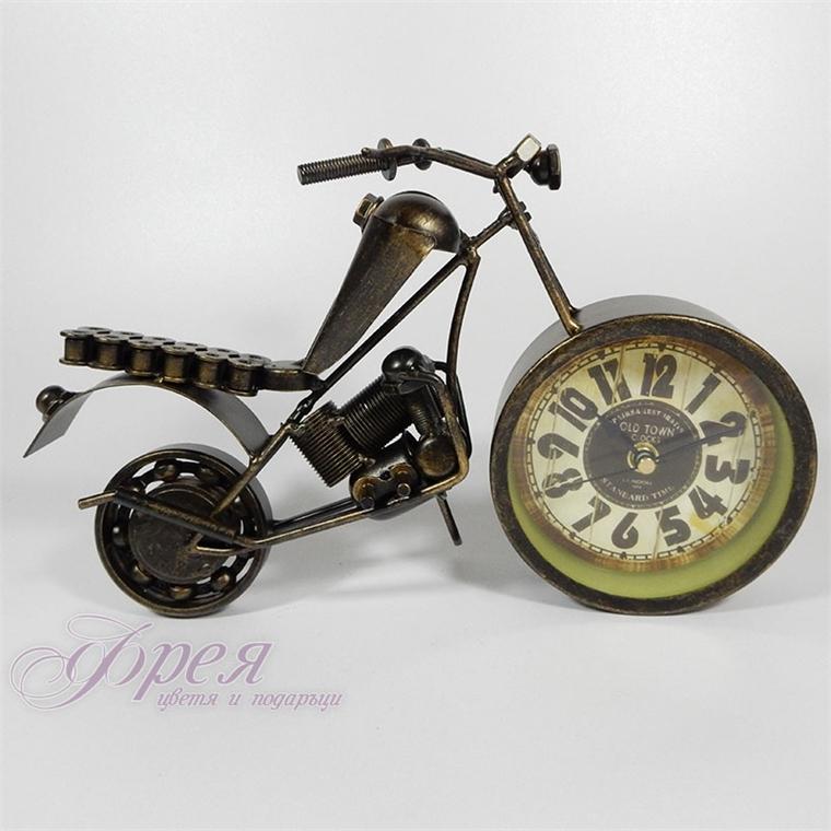 Метален рокерски часовник мотор
