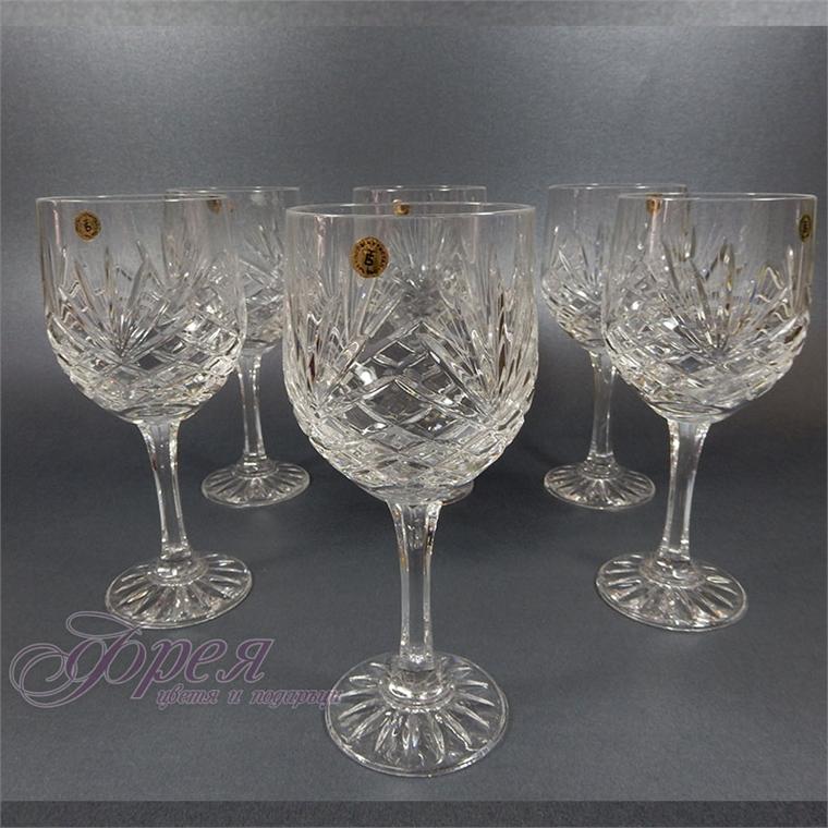 Кристални чаши за червено вино серия ''Маргарита''