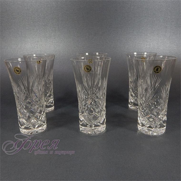 Кристални чаши за ракия/узо серия ''Маргарита''