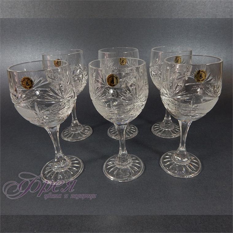 Кристални чаши за ракия серия ''Поморие''