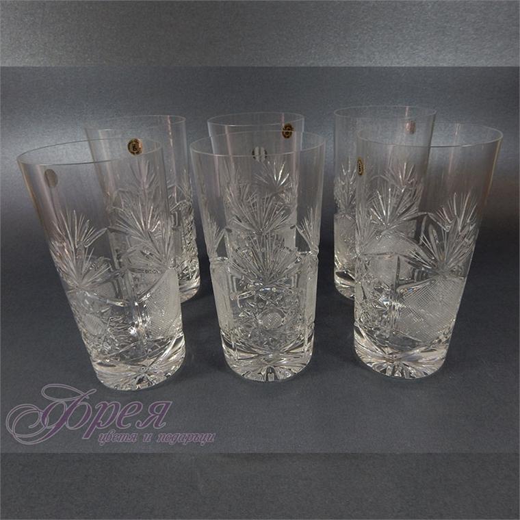 Кристални чаши за вода серия ''Поморие''