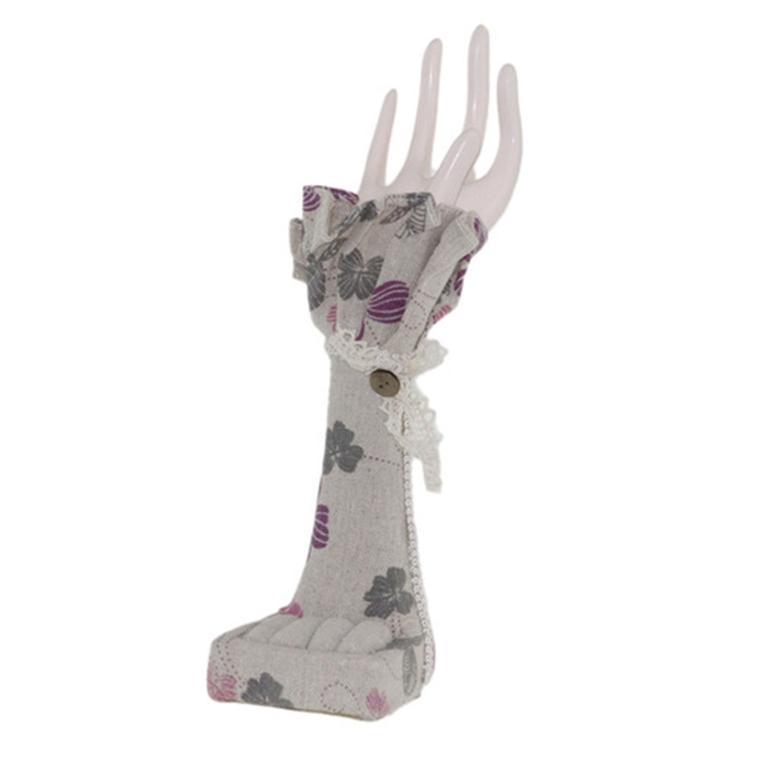 Поставка за бижута ръка - детелинки