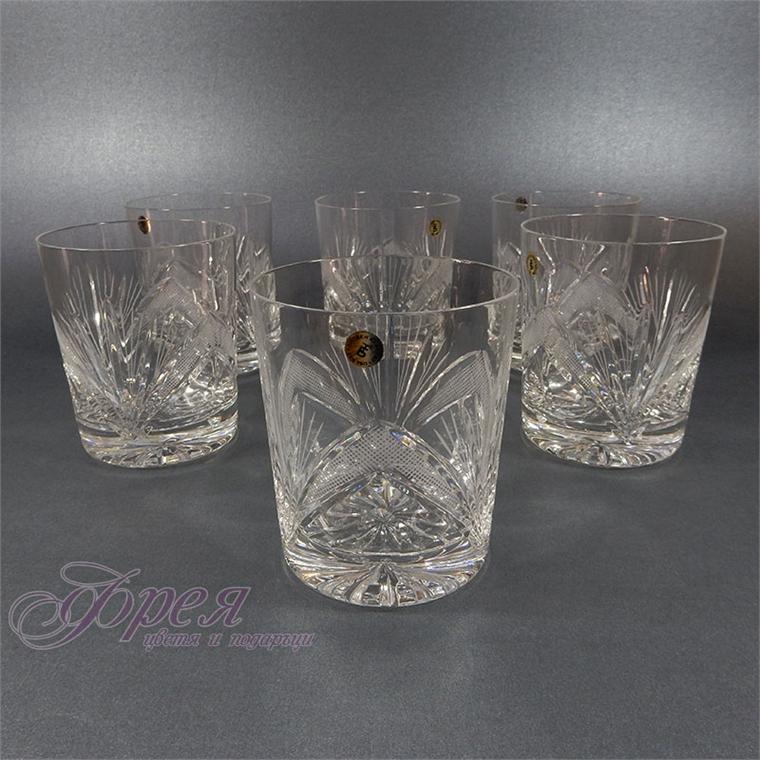 Кристални чаши за уиски серия ''Рамона''