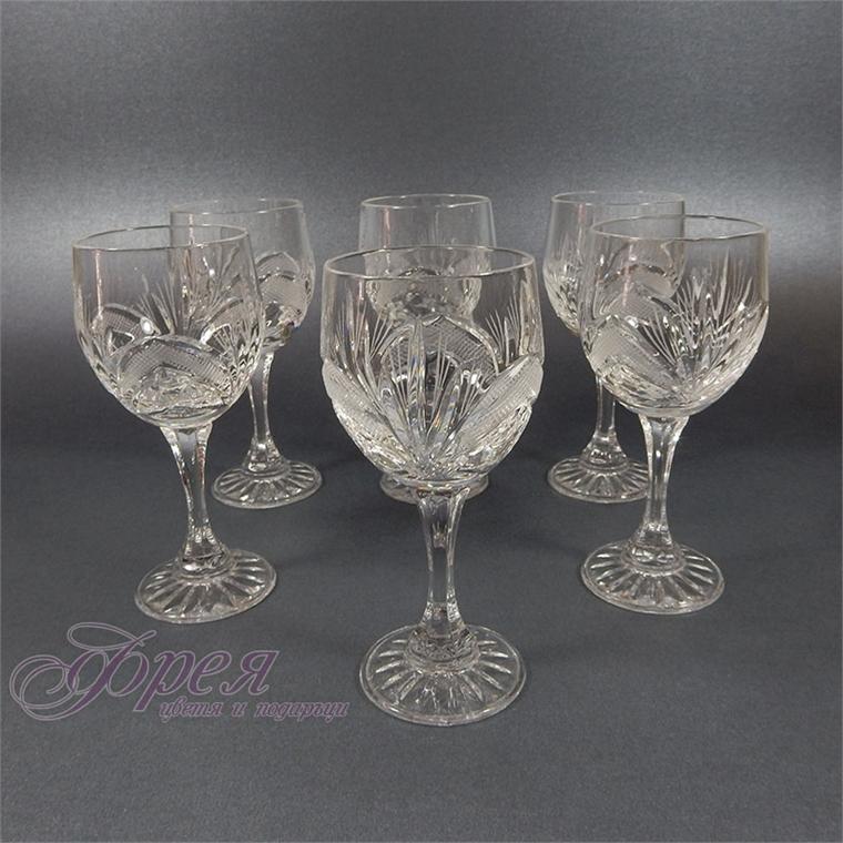 Кристални чаши за ракия серия ''Рамона''