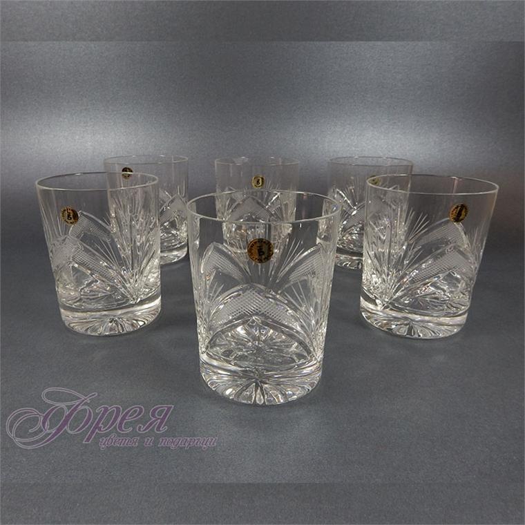 Кристални чаши за водка серия ''Рамона''