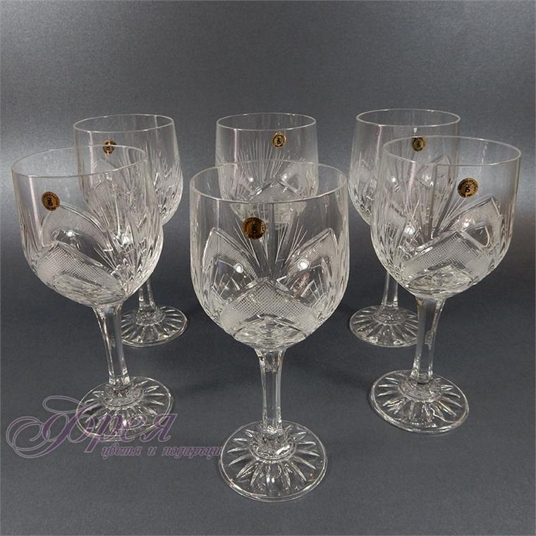 Кристални чаши за червено вино серия ''Рамона''