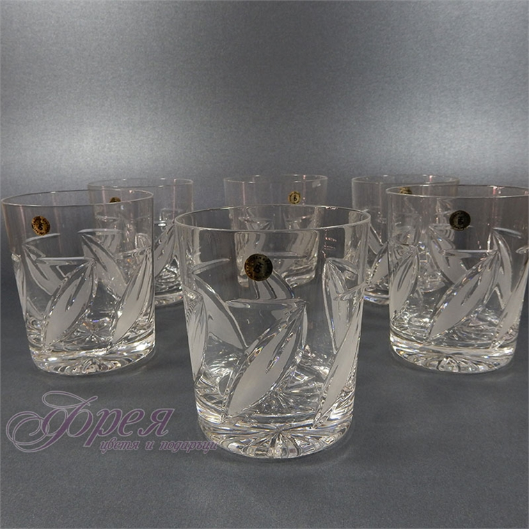 Кристални чаши за водка серия ''Виланов''