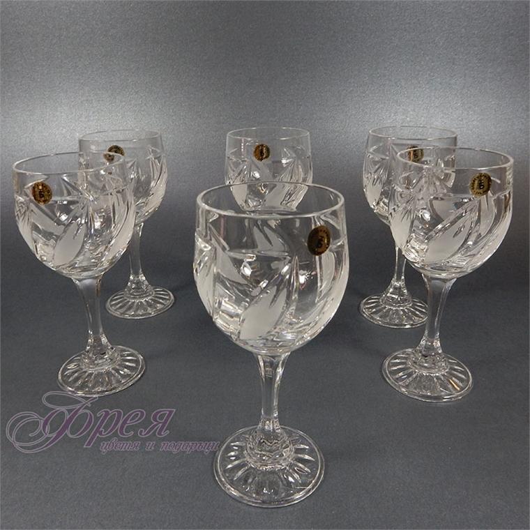 Кристални чаши за ракия серия ''Виланов''