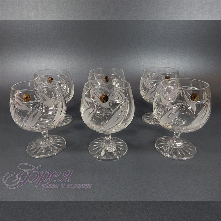Кристални чаши за коняк серия ''Виланов''
