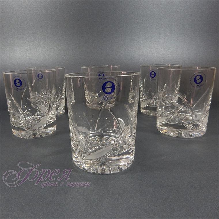 """Кристални чаши за уиски """"Теодора"""""""