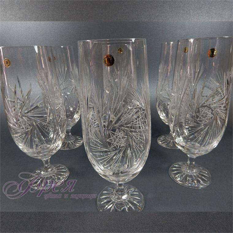 Кристални чаши за бира серия ''Моника''