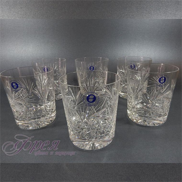 Кристални чаши за водка серия ''Моника''