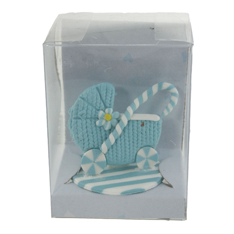 Декорация - Малка бебешка количка