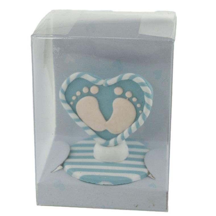 Декорация Сърчице - Крачета, синьо