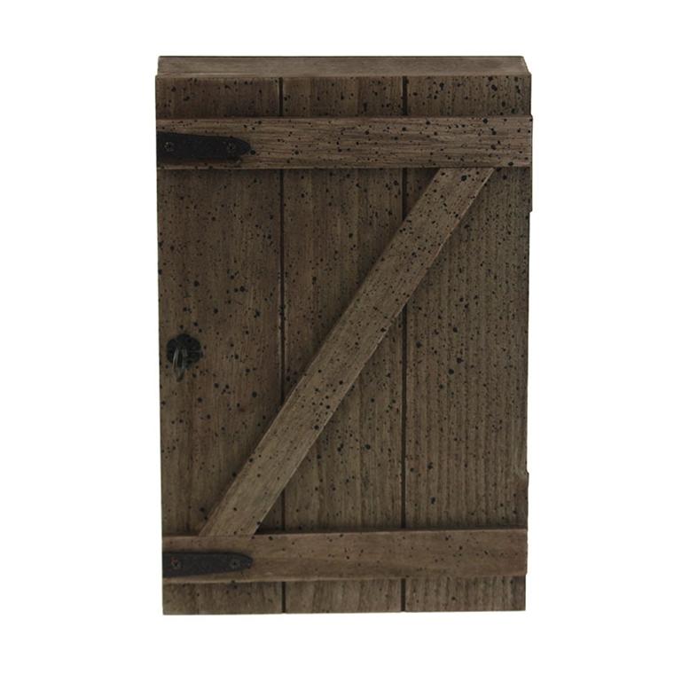Кутия за ключове - Дървена вратичка 30см
