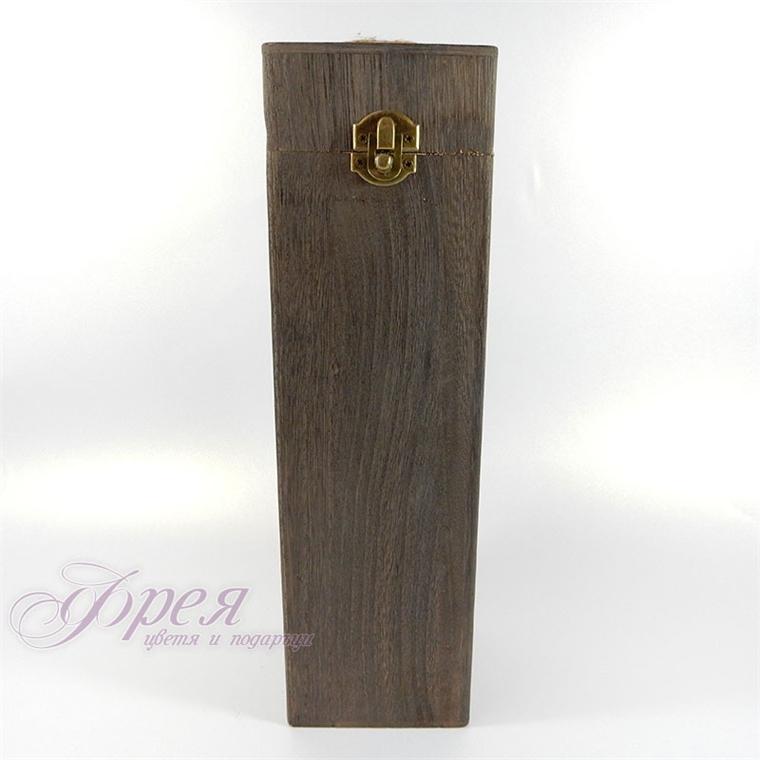 Дървена кутия за вино