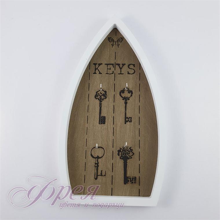"""Поставка за ключове - """"Лодка"""" 31*16,5 см"""