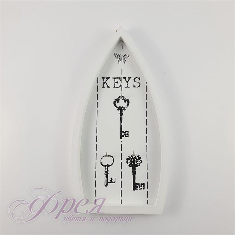 """Поставка за ключове - """"Лодка"""" 27*12 см"""