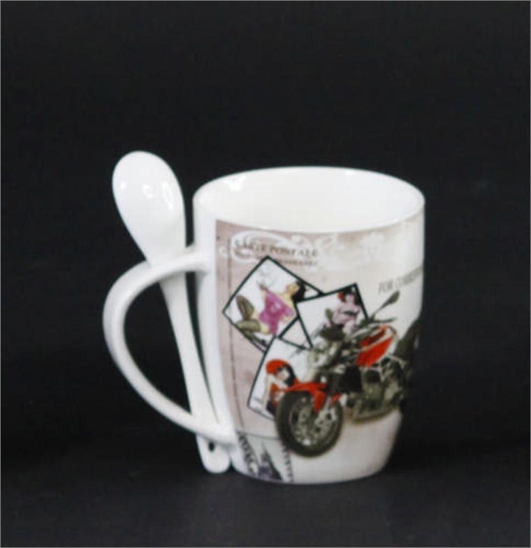 Чаша с лъжичка - Рокерски мотop