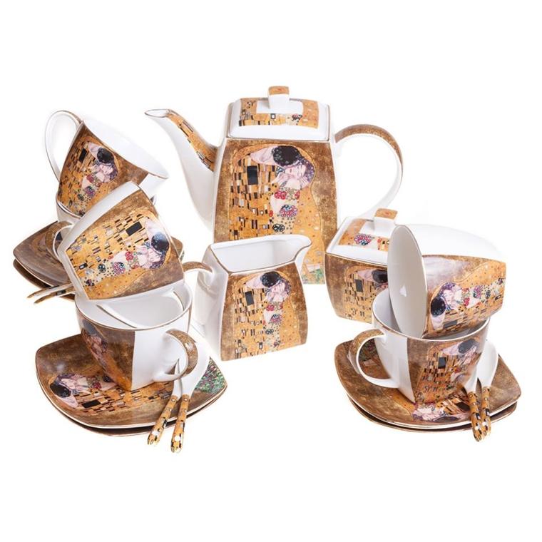Комплект за чай - Целувката