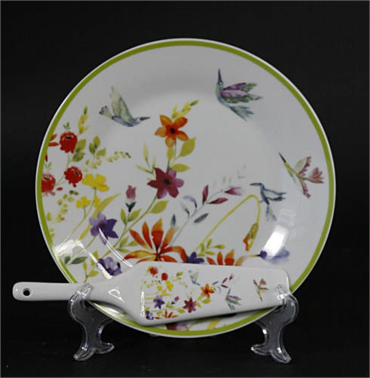 Комплект за торта - Птички и цветя