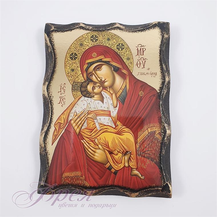 Икона на Света Богородица 15 х 11 см