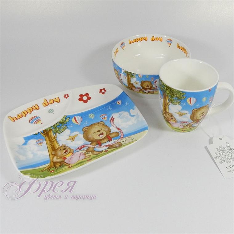 Детски комплект - Усмивки 3 части