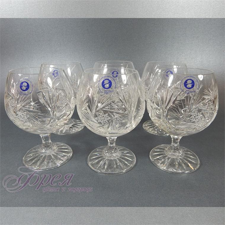 Кристални чаши за коняк серия ''Моника''