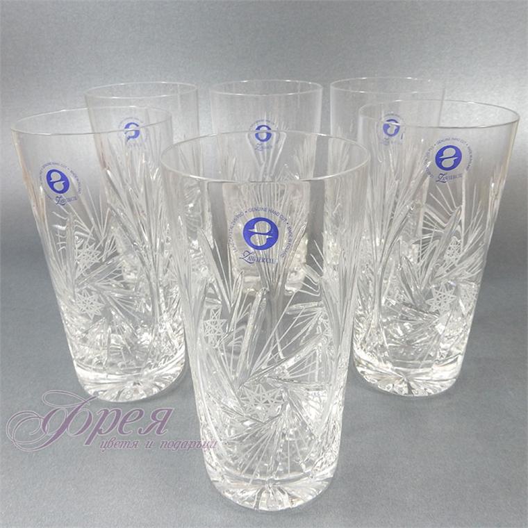 Кристални чаши за вода серия ''Моника''