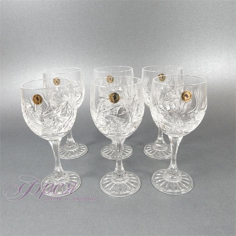 Кристални чаши за ракия серия ''Моника''
