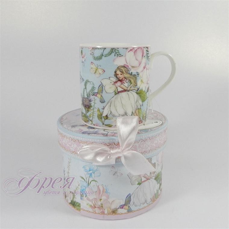 Порцеланова чаша за кафе - Фея