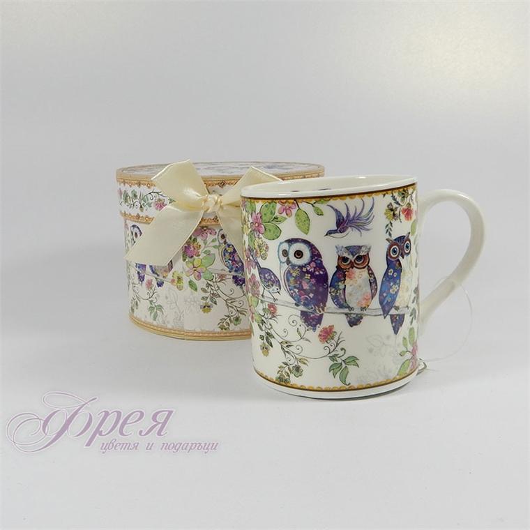 Порцеланова чаша класик - Бухалчета