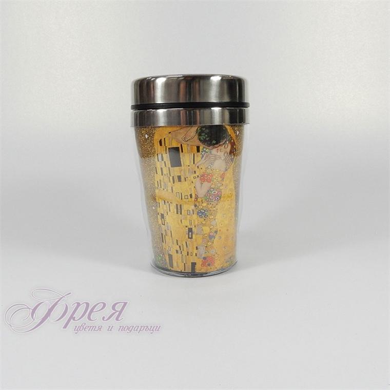 Термо чаша Целувката - малка