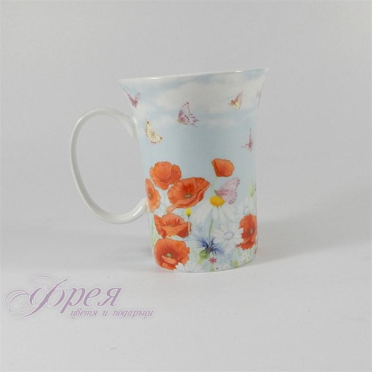 Порцеланова чаша - Макове 68