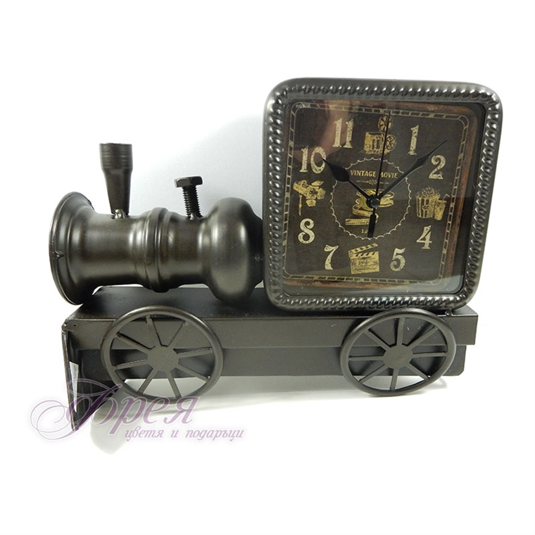 Настолен часовник - Ретро локомотив