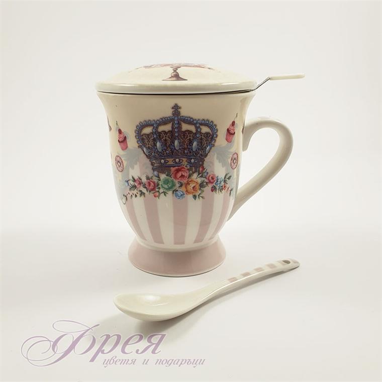 Чаша за чай - Царска Корона