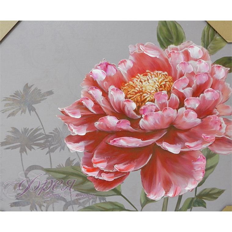 Картина с цвете