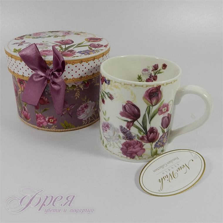 Порцеланова чаша класик - Лалета