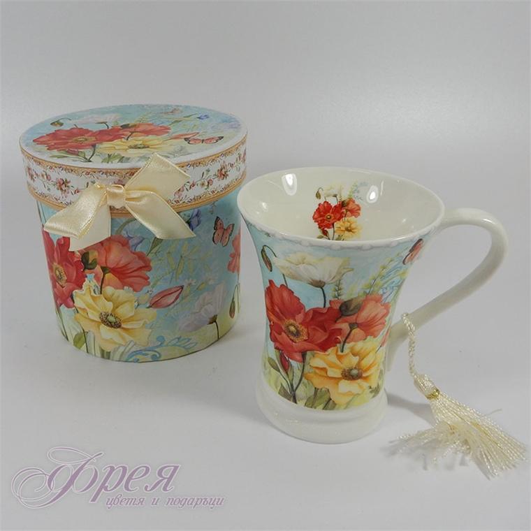 Чаша в подаръчна кутия - Пролетно ухание 11см