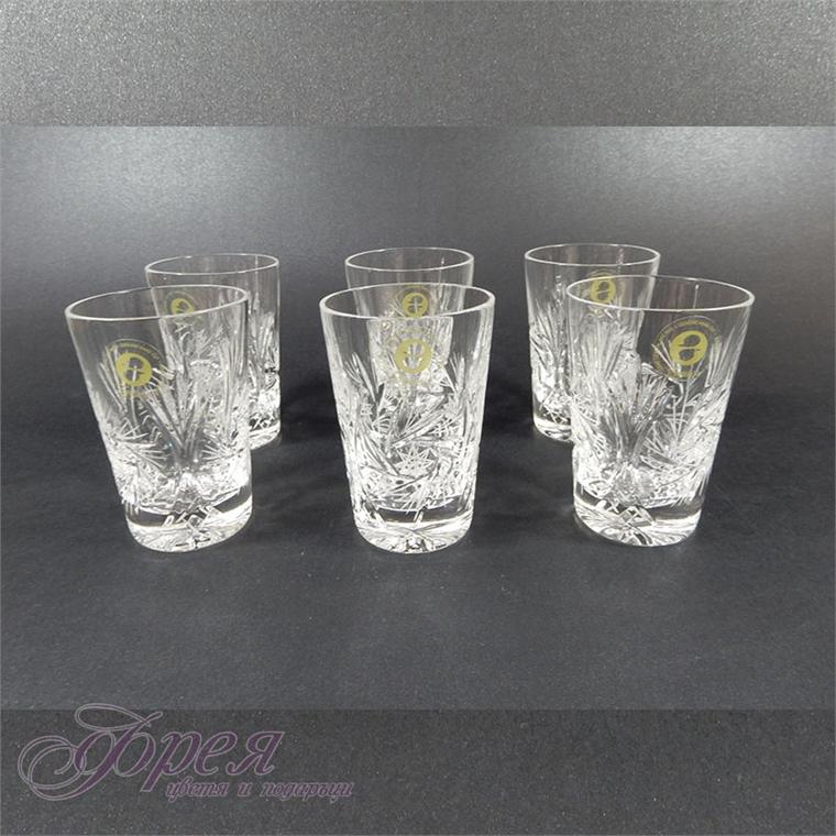 """Кристални чаши за вода серия """" Моника"""""""