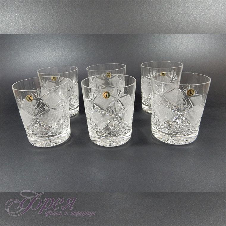 """Кристални чаши за уиски серия """"Виолета"""""""