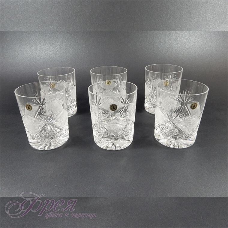 """Кристални чаши за водка """"Виолета"""""""