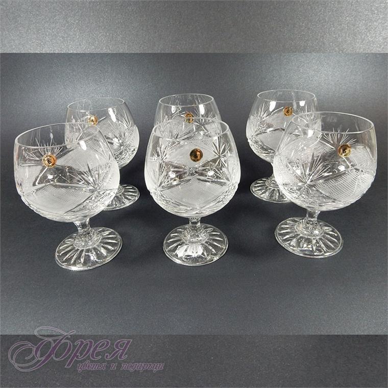 """Кристални чаши за коняк """"Виолета"""""""